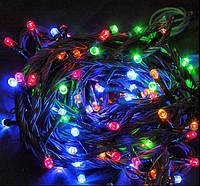 Гирлянда новогодняя цветная 300 лампочек, фото 1