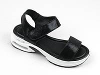 Сандалии, босоножки, женская летняя обувь ( спилок)