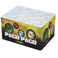 """Батарея салютов PAGO PAGO MC119 - 60 выстрелов, 6 эффектов, 25-30 мм """"Drakon"""" ZB-0013"""