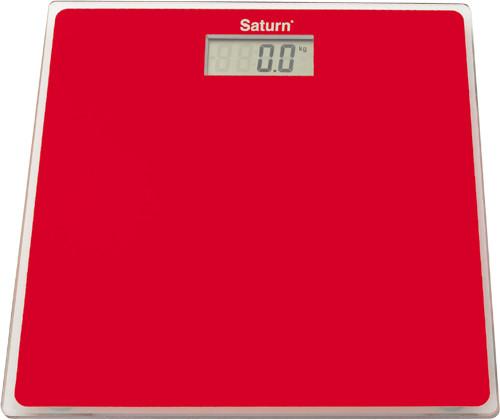 Весы Сатурн ST-PS1247 Red (красный,розовый)