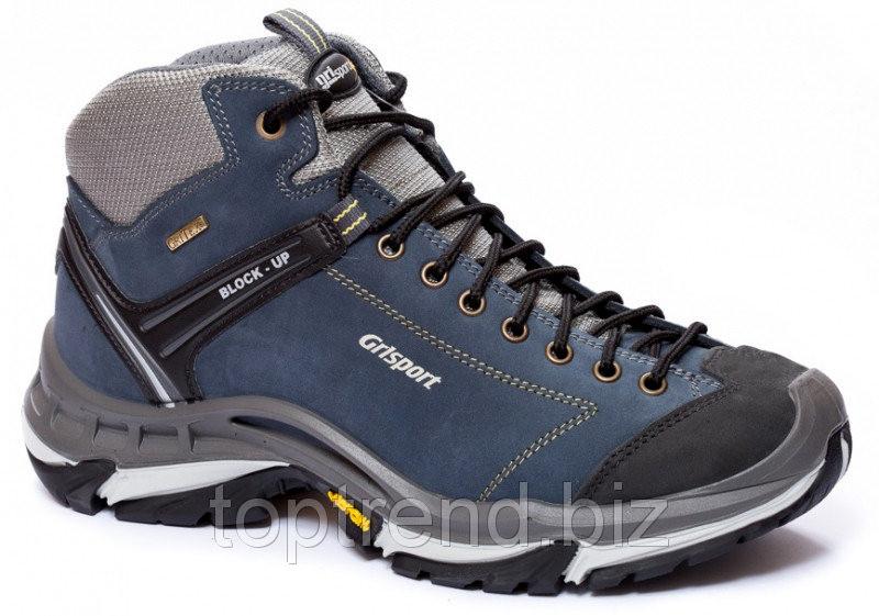 Trekking Ботинки мужские синие Grisport с мембраной Gritex для туризма и гор