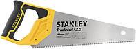 Ножовка по дереву 380 мм 7 TPI закаленный зуб TRADECUT STANLEY нержавеющая сталь STHT20348-1
