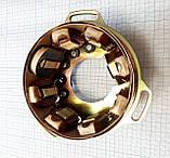 Генератор мотоцикла Минск 125 куб., 14В, 65Вт, 3701, фото 5