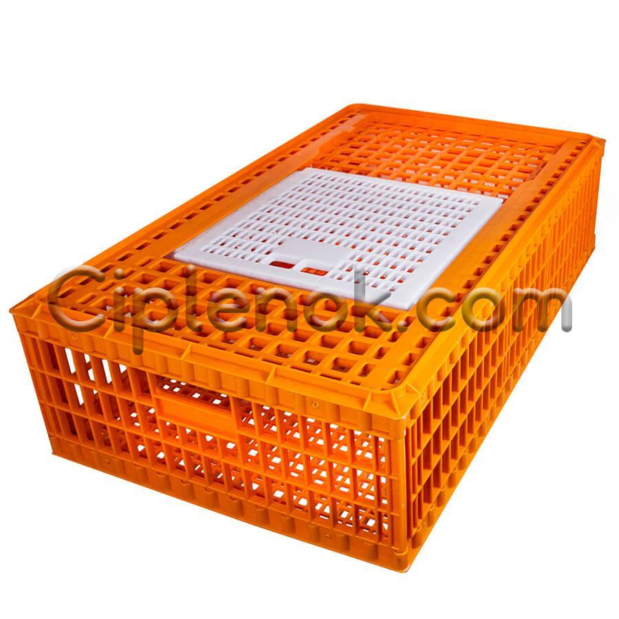 Ящик для перевезення живої птиці з розсувними верхній дверкою 98х58х27