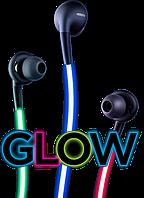 Cветящиеся наушники Glow