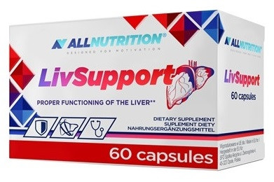 Поддержка печени AllNutrition - LivSupport (60 капсул)