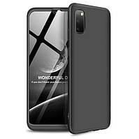 Чехол GKK 360 градусов для Samsung A70 Черный