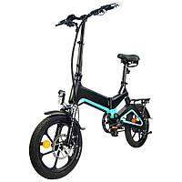 "Электровелосипед NAKXUS 16KF1, колеса 16"", складной, моторколесо 250W, аккумулятор 36V 6Ah (216Wh) (ID:23618)"