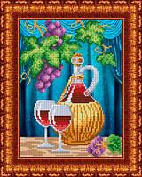 Схема для вышивания бисером Вино