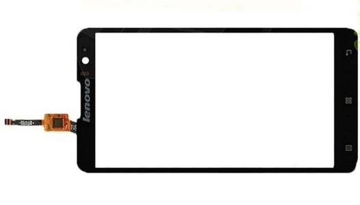 Lenovo S8 S898t сенсорний екран, тачскрін чорний