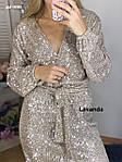 """Сукня жіноча """"Паєтки"""" від Стильномодно, фото 8"""