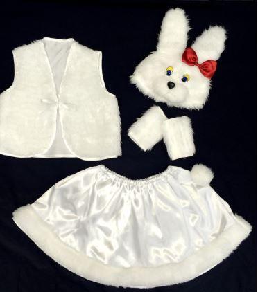 Новогодний костюм Зайчик, Зайка 3-7 лет