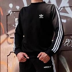Світшот в стилі Adidas Badge чорний