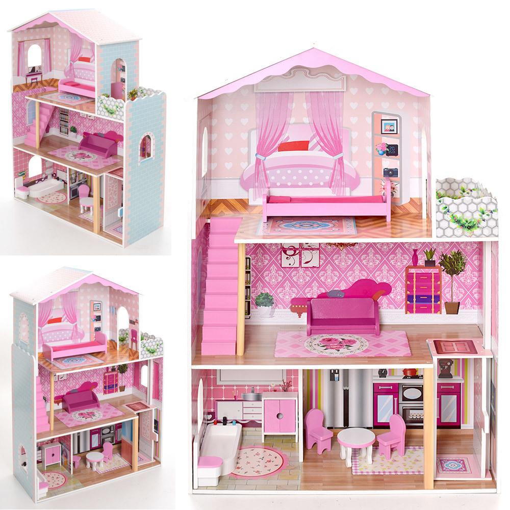 Кукольный домик Viga MD 2098