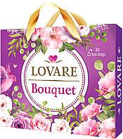 Коллекция чая LOVARE Bouquet ассорти 6 видов чая по 5 конвертов