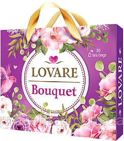 Колекція чаю LOVARE Bouquet асорті 6 видів чаю по 5 конвертів