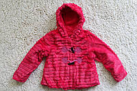 Меховое пальтишко для девочки ( подкладка мех- травка ) 7-8 лет, фото 1