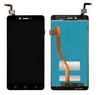 Дисплей модуль Lenovo K6 Note (K53a48) в зборі з тачскріном, чорний