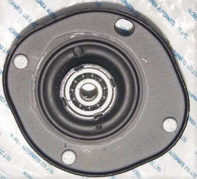 Опора верхня переднього амортизатора лівий (підшипник GMB) Ланос РН Корея