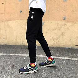 Спортивні штани в стилі Off White XX чорні