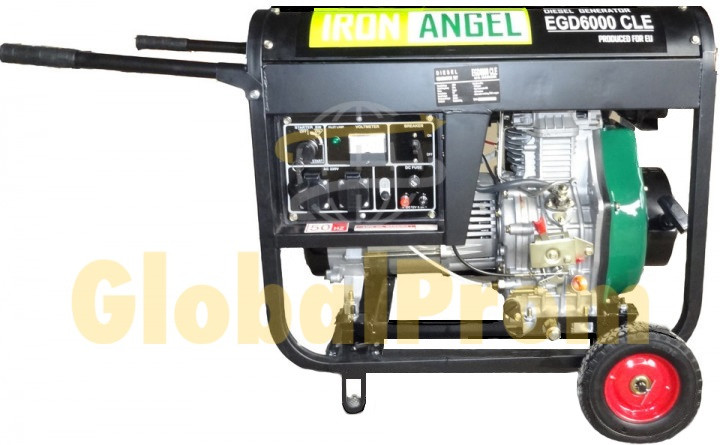 Генератор Iron Angel EGD 6000 CLE
