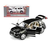 Машинка металл AUDI Q7 черный
