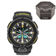 Часы наручные C-Shock GA-500 Black-Yellow+Box