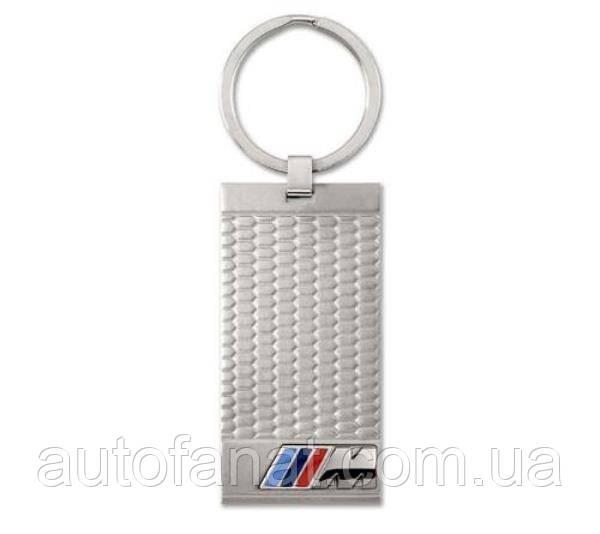 Оригінальний брелок BMW M Stainless Steel Key Ring Pendant (80272410928)