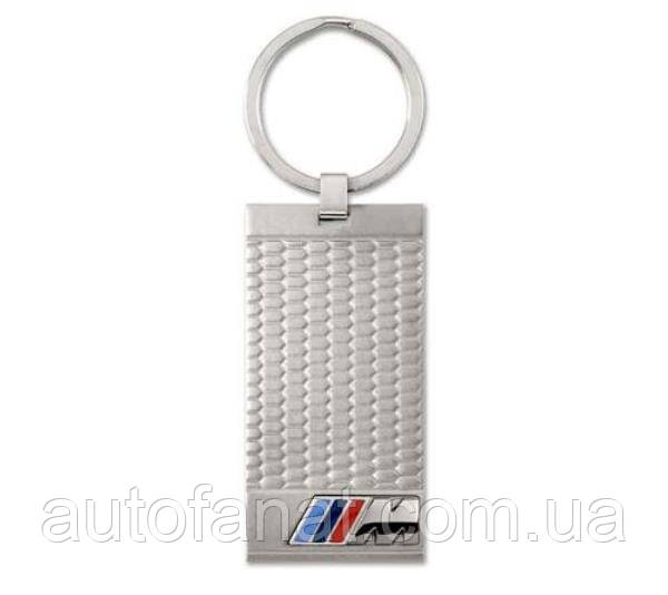 Оригинальный брелок BMW M Stainless Steel Key Ring Pendant (80272410928)