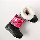 Зимние не промокаемые  сноубутсы -  дутики из пены ЭВА, на меху, р. 26, 27. Легкие и теплые, фото 7