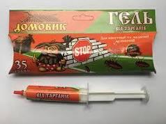 Гель от тараканов в шприце Домовик 35 г Агромакси  1172