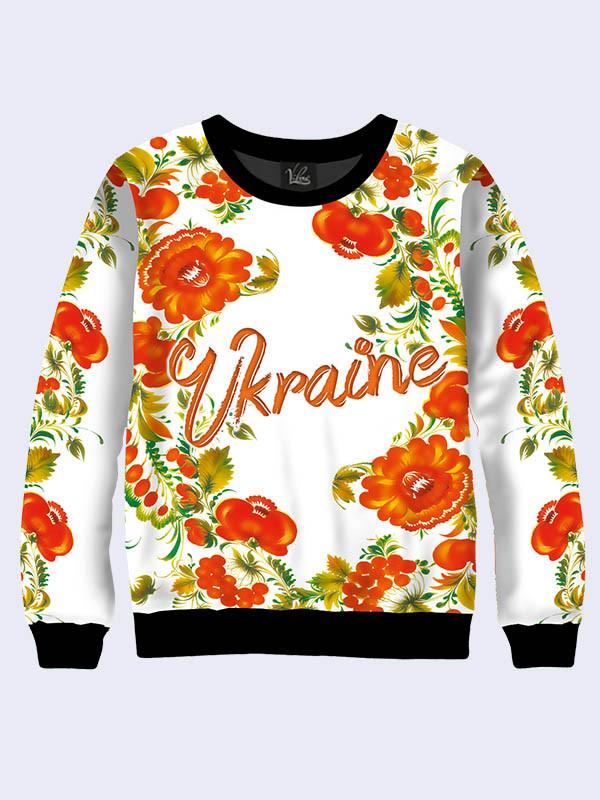 Женский свитер Петриковские Узоры. Размер 42 - 50