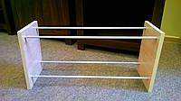 Подставка этажерка для обуви 2 полки дуб, фото 1