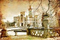 Фотообои Дворец винтаж  разные текстуры , индивидуальный размер
