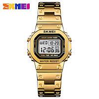 Skmei 1433 singapore  золотые женские спортивные часы, фото 1