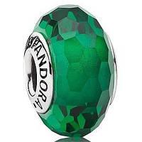 Стекло Мурано Pandora копия оригинала 1:1 Зеленый