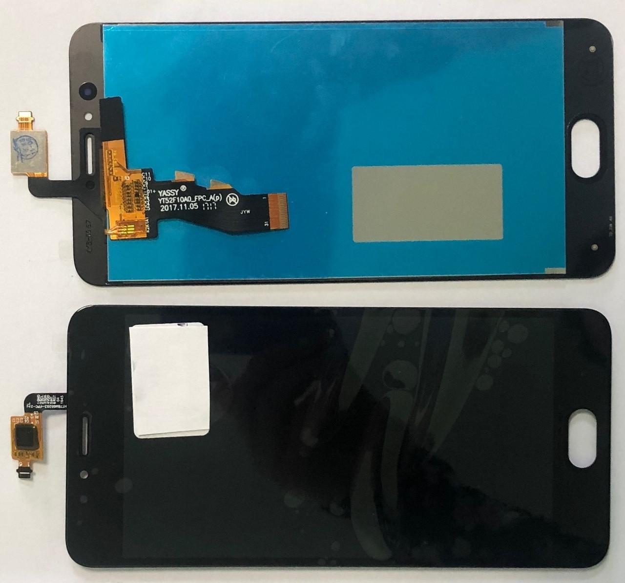 Дисплей Meizu M5s модуль в сборе с тачскрином, черный