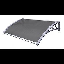 Навес для входных дверей Siker 1000-C (1000*1200) Серый