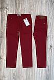 Бордовые брюки Polo для мальчика, фото 2