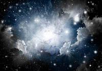 Фотообои Космос для потолка разные текстуры , индивидуальный размер