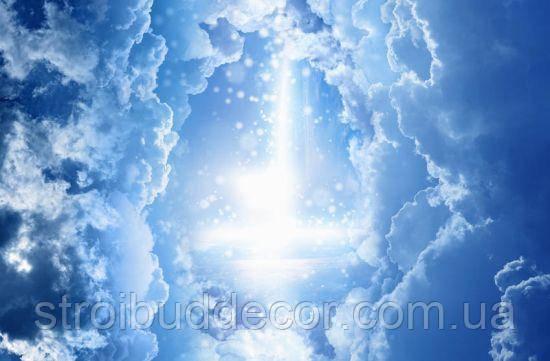 Фотообои Небо для потолка разные текстуры , индивидуальный размер