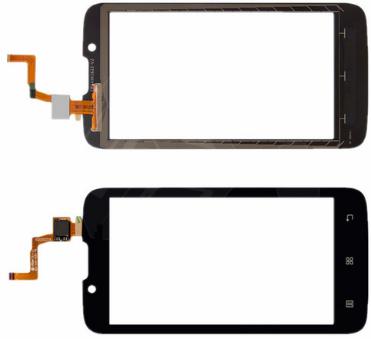 Сенсорний екран для смартфону Lenovo A328, тачскрін чорний