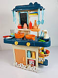 Детская Кухня 7426 течет вода, эффект пара, Синий, фото 2