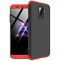 Чехол GKK 360 градусов для Samsung Galaxy A8 Plus 2018 A730