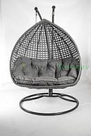 Подвесное кресло из искусственного ротанга , Дабл Премиум