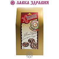 """Печенье """"Корисна Кондитерська с шоколадом в шоколадной глазури"""" со стевией (без сахара), 130 г, фото 1"""