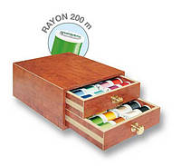 8110 Rayon маленькая шкатулка 200м(48xRayon 200м,1x цветовая карта Rayon)