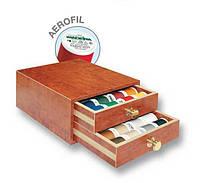 8113 Aerofil маленькая шкатулка 400м(48xAerofi 400м,1x цветовая карта Aerofi)