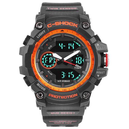 Часы наручные C-Shock GG-1100 Black-Orange