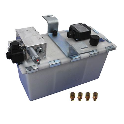 Гідростанція для доклевелера з поворотною губою  Crawford, Hafa, Assa Abloy
